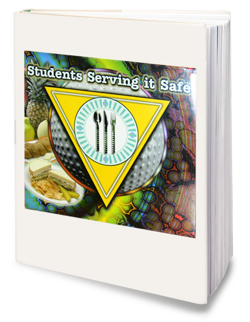 Students Serving it Safe CD-ROM Cover illustration