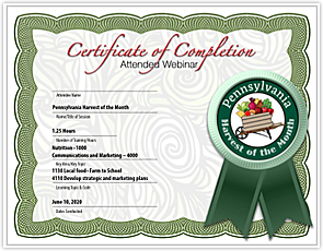 Certificate Graphic